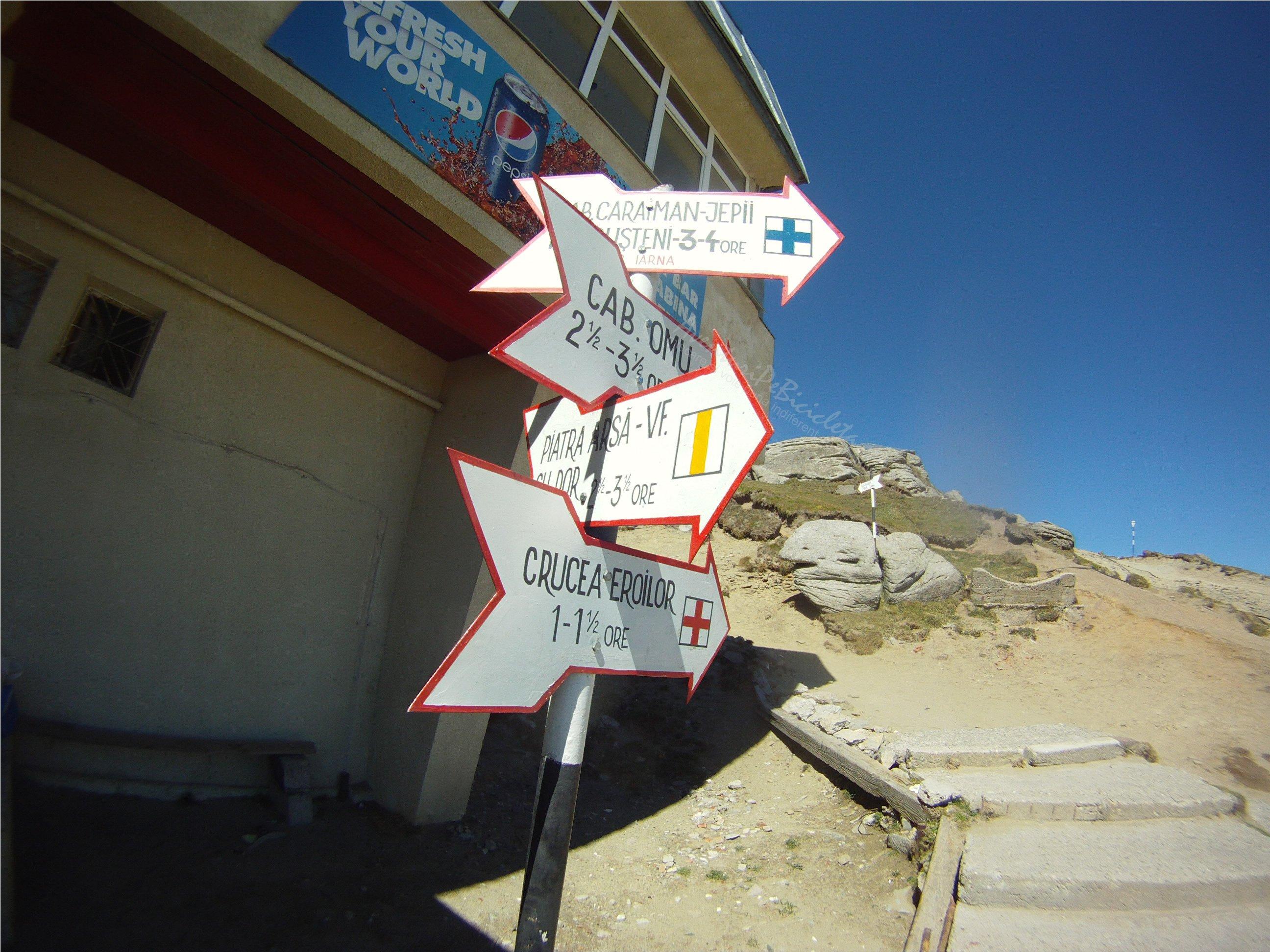 Aventuri pe bicicleta – Tura MARE – Traseul: Babele – Sfinxul – Crucea Eroilor (Cruce Caraiman)