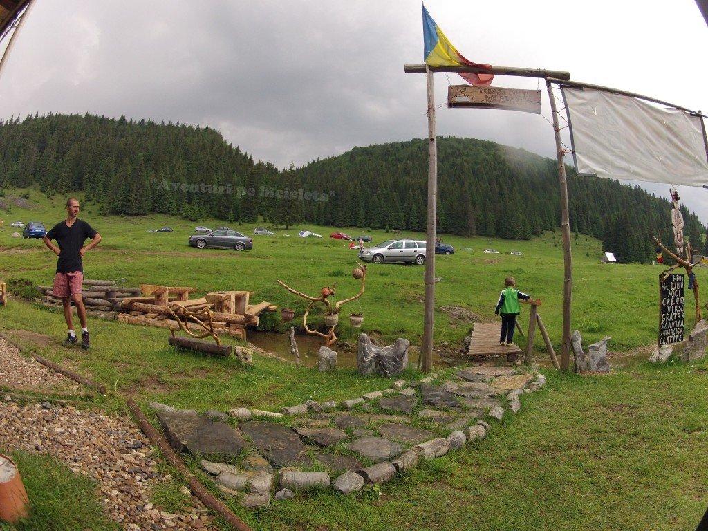 Parcul Natural Apuseni - In Campingul Glavoi