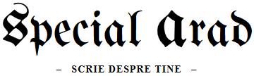 Specialarad.ro - Scrie despre tine