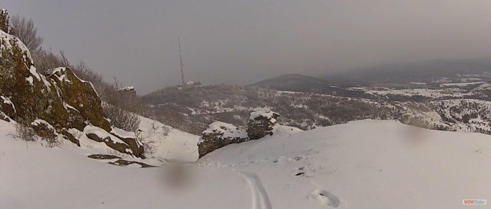 Traseul Siria  Cetatea Siria Siria pe noroi si zapada