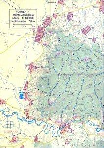 Harta Muntii Zarandului 2a