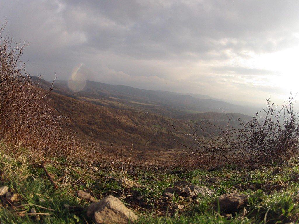 Ploaie cu soare de la cetatea Siria