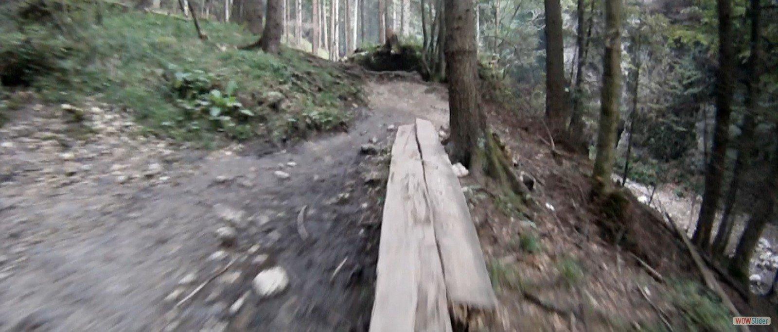 Coborare cu bicicleta de la Canionul Sapte Scari
